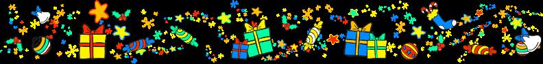 spectacle de Noël en photos - bordure de noel bottom vieille eglise en yvelines